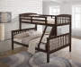 Riley Twin Full Bunk Bed Full Headboard Slat and Rails Box 2 of 3 lifestyle bedroom