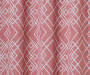 Rosario Coral Geo Trellis Room-Darkening Single Curtain Panel 95 inches Swatch