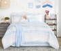 Rose and Blue Feathers Queen 12 Piece Reversible Comforter Set lifestyle bedroom