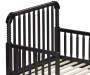 Rowan Valley Linden Black Toddler Bed silo front