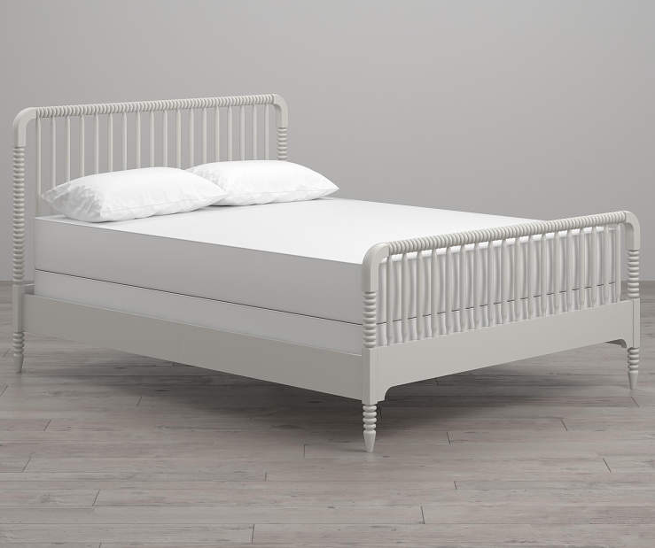 Rowan Valley Linden White Full Bed Frame lifestyle