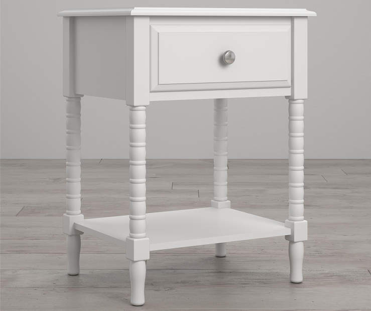 Rowan Valley Linden White Nightstand lifestyle