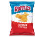 Ruffles Cheddar & Sour Cream Flavored Potato Chips 8.5 oz. Bag