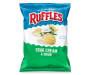 Ruffles® Sour Cream And Onion Potato Chips 8.5 oz. Bag
