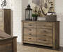 Rustic 6 Drawer Dresser Lifestyle