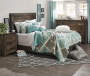 Rustic 6 Drawer Dresser with Bedroom Set lifestyle