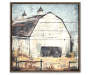 Rustic Barn Canvas Wall Art 32 inches by 32 inches Silo