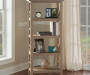 Rustic Pine 4 Shelf Bookcase lifestyle