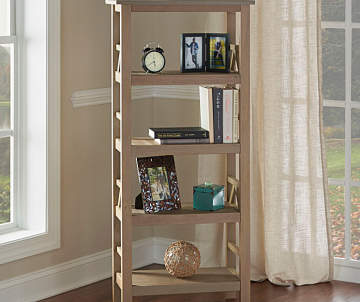 Non Combo Product Selling Price 16999 Original List Rustic Pine 4 Shelf Bookcase