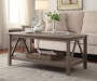 Rustic Pine Coffee Table lifestyle