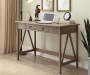 Rustic Pine Writing Desk lifestyle