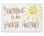 SBC PLAQUE 7x5 SUNSHINE ACCESSORY