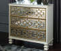 SENZERNELL GOLD ACCENT CABINET