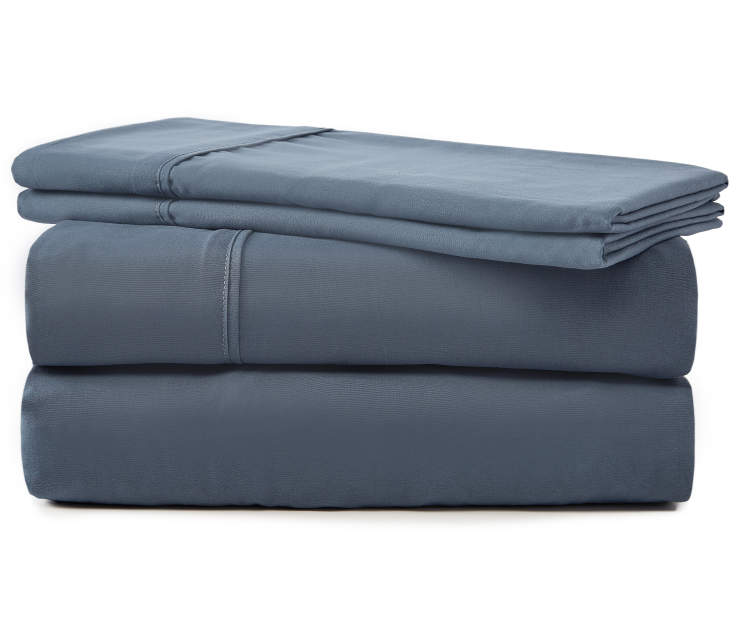 SERTA FULL SHEET SET BLUE