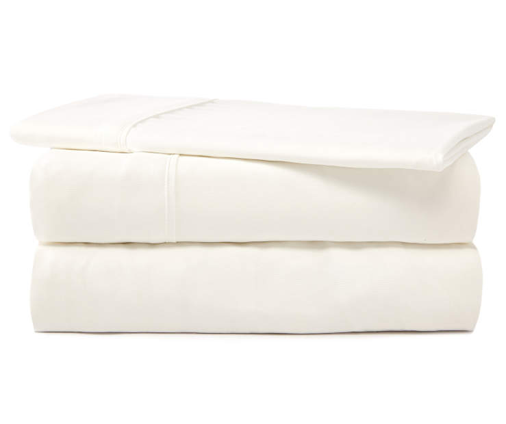 SERTA TWIN SHEET SET WHITE