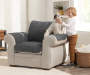 SF FP REV CHAIR/RECLINER GREY/BLACK