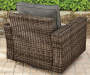 SHADOW CREEK ALL WEATHER WICKER DEEP SEATING SET - 2PK SWIVEL GLIDERS