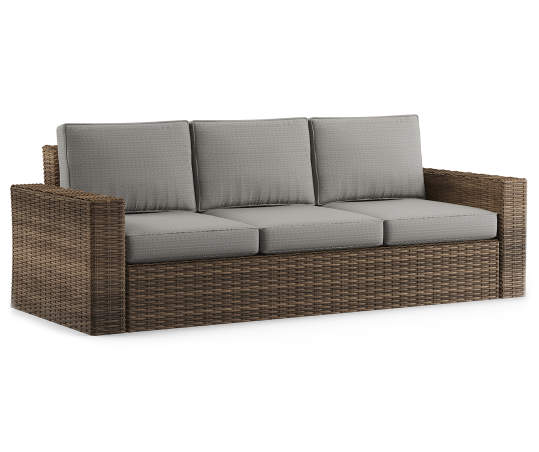 Wilson & Fisher Shadow Creek All Weather Wicker Cushioned ...