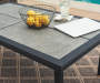 SHADOW CREEK ALL WEATHER WICKER DEEP SEATING SET - TILE TOP COFFEE TABLE