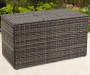 SHADOW CREEK ALL WEATHER WICKER STORAGE DECK BOX