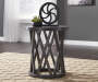 SHARZANE GRAY END TABLE