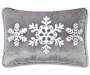 SHIM DEC PILL GRAY VELVET SNOW 13X18