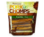 SMOKED PORK SKIN TWIST 6IN 15 CT