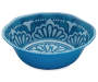 SOLID TURQ SERVING BOWL