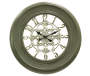 Sage Green Champ Wall Clock 23 inches Silo Image