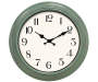Sage Green Wall Clock 16 inches Silo Image