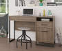 Salina Oak Lift Top Desk lifestyle bedroom
