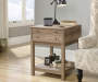 Salt Oak Barrister Lane 1 Drawer Side Table  lifestyle