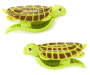Sea Turtle Beach Towel Clips, 2-Pack Silo Image Front View