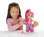 Shimmer and Shine Genie Dance Shimmer Doll silo front with child model