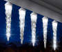 ShootingStar LED Icicle Light Set 10 Count environment