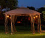 Sienna Octagon Gazebo Replacement Canopy 10 Feet by 12 Feet Outdoor Setting Lifestyle Image