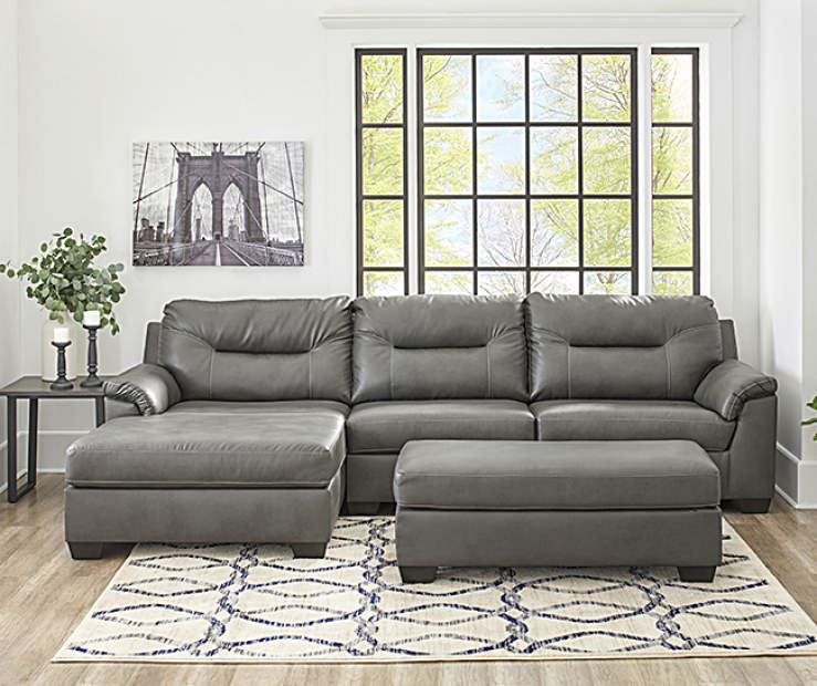 Signature Design By Ashley Carrillo Gray Living Room