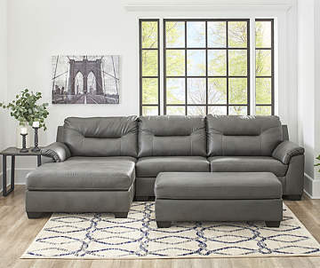 Signature Design By Ashley Carrillo Gray Living Room Collection Co