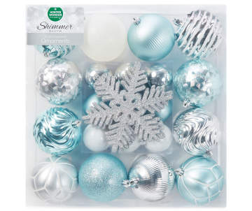 non combo product selling price 120 original price 120 list price 120 - Teal Christmas Ornaments