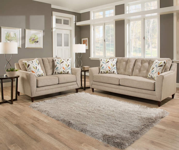 Simmons Avalon Tan Living Room Collection Big Lots