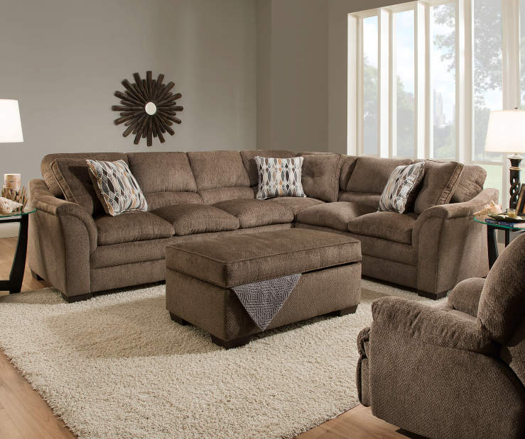 Living Room Low Furniture: Simmons Big Top Living Room Furniture Collection