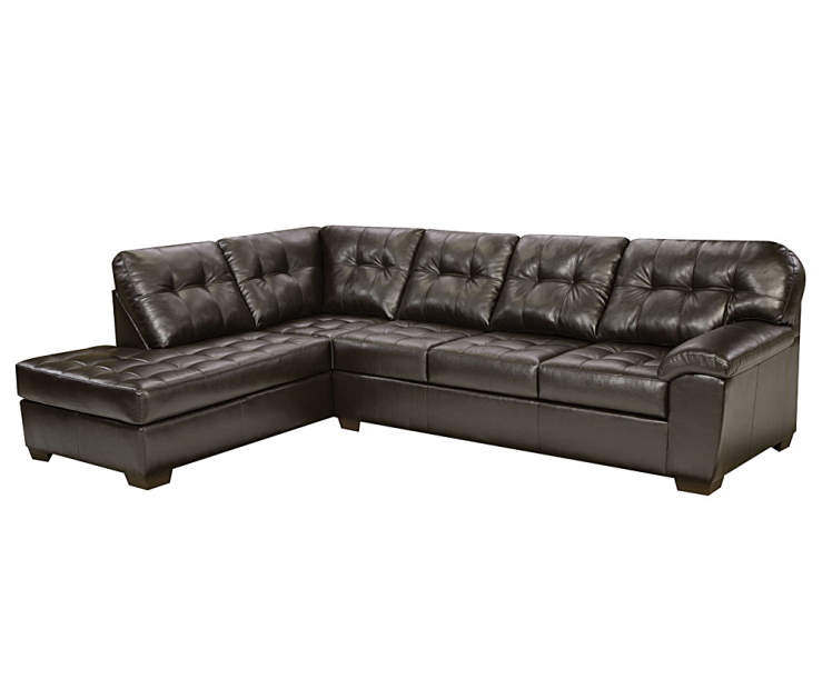 Small Corner Sofa No Arms: Simmons Brooklyn Sectional, 2-Piece Set