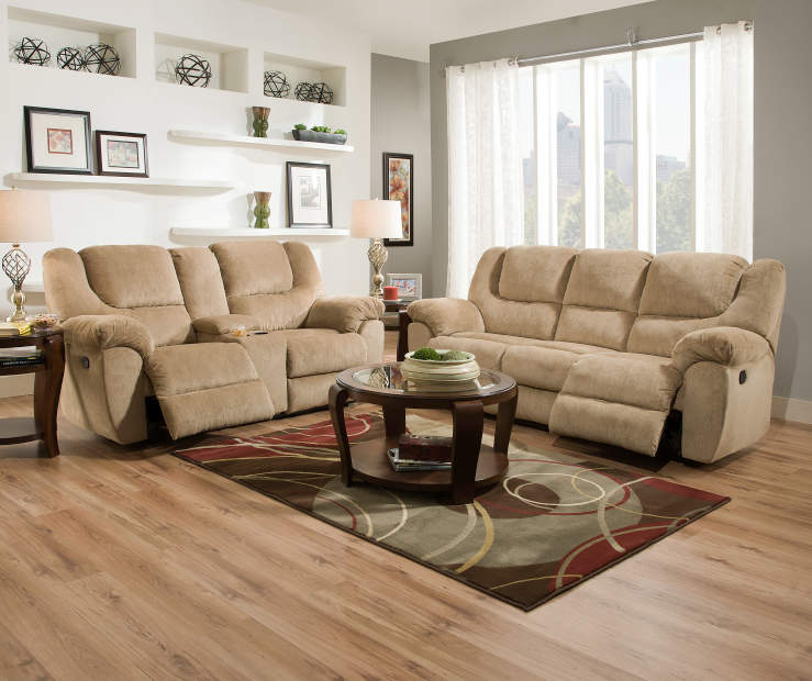 The Living Room Furniture: Simmons Journey Living Room Furniture Collection