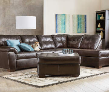 set price 119997 - Leather Living Room Furniture