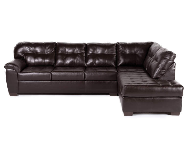 Simmons Manhattan Living Room Sectional 2 Piece Set Big