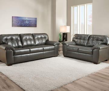 Simmons Mason Charcoal Sofa Big Lots