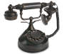 Skeleton Candlestick Rotary Phone with Sound