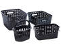 Small Black Weave Stacking Bin silo front collection