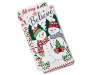 Snowman and Typography Kitchen Towels 2-Pack Silo Image