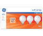 Soft White 40-Watt G25 Globe Bulbs, 3-Pack in package